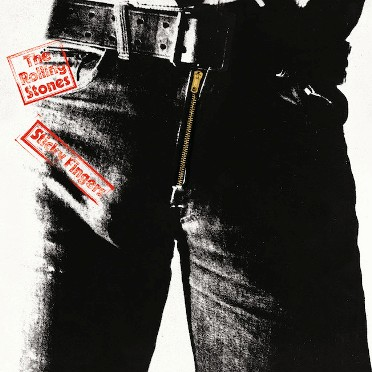 The Rolling Stones, Cover Sticky Fingers